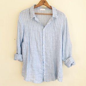 CP Shades Linen Button Down Shirt